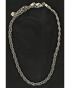 Blazin Roxx Women's Braided Snake Chain Necklace, , hi-res