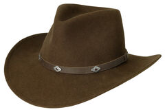 Black Creek Acorn Men's Crushable Wool Hat, , hi-res