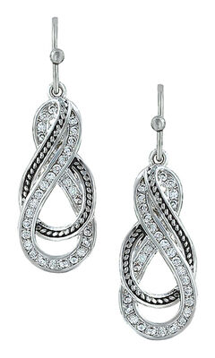 Montana Silversmiths Women's Wrapped Up In You Earrings , , hi-res