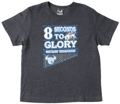 "Cowboy Hardware Boys' ""8 Seconds to Glory"" T-Shirt , , hi-res"