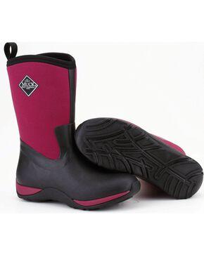 Muck Boots Maroon Arctic Weekend Boots, Maroon, hi-res