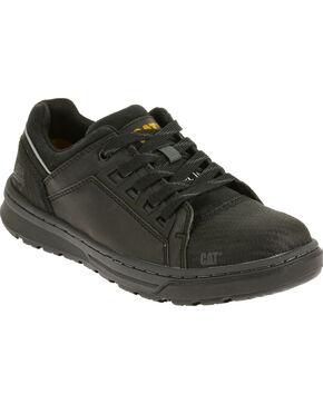 Caterpillar Men's Black Concave Lo Work Shoes - Steel Toe , Black, hi-res