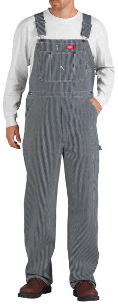 Dickies ® Hickory Stripe Overalls - Big & Tall, , hi-res