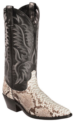 Laredo Key West Python Cowboy Boots - Medium Toe, , hi-res
