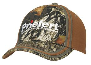 Priefert Camouflage Casual Cap, Camouflage, hi-res