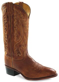 Old West Men's Western Cowboy Boots - Round Toe, , hi-res