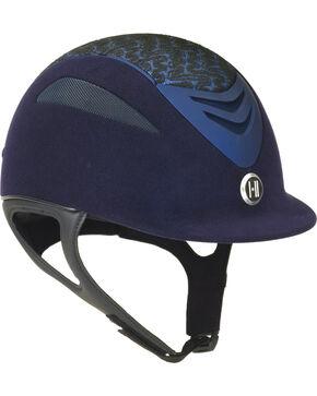 One K Defender Suede Brocade Helmet, Navy, hi-res