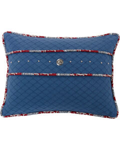 HiEnd Accents Bandera Studded Concho Accent Pillow, , hi-res