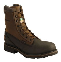Justin Tec-Tuff Lace-Up Work Boots - Steel Toe, , hi-res
