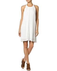 Miss Me Ruffle Halter Dress, , hi-res