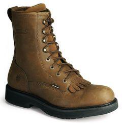 "Wolverine Ingham DuraShocks Lace-Up 8"" Work Boots, , hi-res"