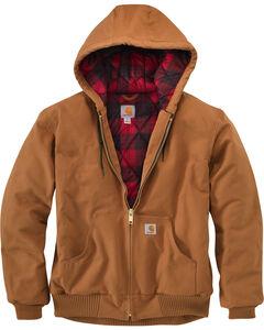 Carhartt Men's Pecan Brown Huntsman Active Jacket, , hi-res