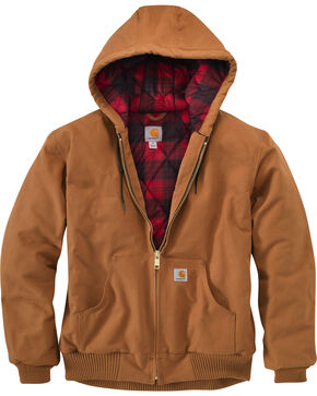 Carhartt Men's Huntsman Active Jacket - Big & Tall, Pecan, hi-res