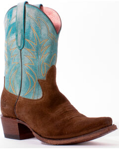Junk Gypsy by Lane Women's Turquoise Dirt Road Dreamer Boots - Snip Toe, , hi-res
