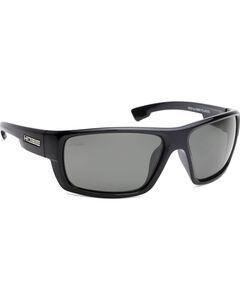 Hobie Men's Grey and Shiny Black Mojo Polarized Sunglasses , , hi-res