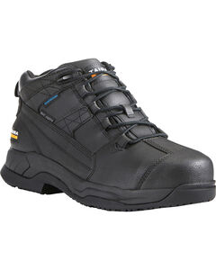 Ariat Men's Contender H2O Waterproof Work Boots - Steel Toe, , hi-res