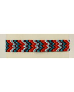 Blazin Roxx Chevron Beaded Headband, , hi-res