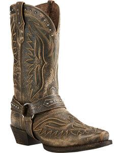 Ariat Iron Cowboy Brooklyn Brown Cowboy Boots - Square Toe, , hi-res