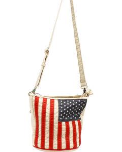 Blazin Roxx Women's Gun Toting American Slim Bucket Bag, , hi-res