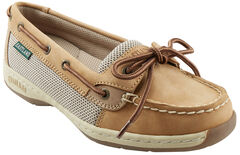 Eastland Women's Tan Sunrise Boat Shoe Slip-Ons , , hi-res