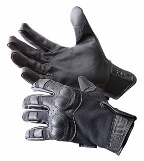 5.11 Tactical Hard Time Gloves, Black, hi-res