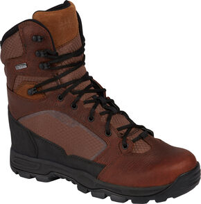 """5.11 Tactical Men's XPRT 8"""" Boots, Bison, hi-res"""
