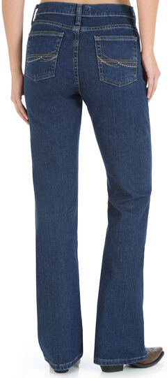 Wrangler Women's As Real As Wrangler Classic Fit Bootcut Jeans, , hi-res