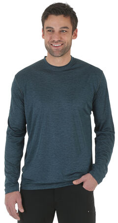 Wrangler Rugged Wear All-Terrain Long Sleeve Performance Tee - Big & Tall , , hi-res