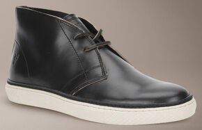 Frye Gates Chukka Shoes, Black, hi-res