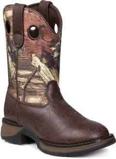Durango Boys' Lil' Durango Camo Cowboy Boots - Round Toe, , hi-res
