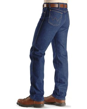 Flame-Resistant Wrangler Jeans - 13MWZ Original Fit, Denim, hi-res