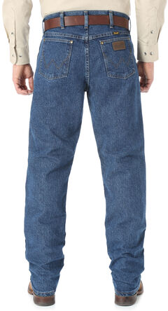 Wrangler Cool Vantage 47 Dark Stonewash Jeans - Regular Fit, , hi-res