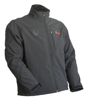 My Core Control Women's Heated Softshell Jacket, Black, hi-res