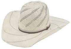 Justin Bent Rail Tornado Straw Cowboy Hat , , hi-res