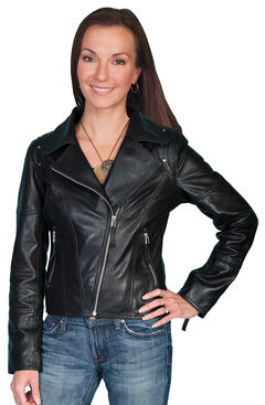 Scully Dyed Lamb Motorcycle Jacket, , hi-res