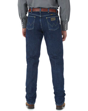 Wrangler Men's George Strait Original Fit Jeans, Blue, hi-res