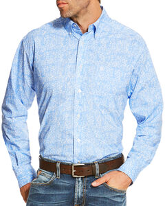 Ariat Men's Multi Orodell Print Long Sleeve Shirt , , hi-res