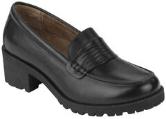 Eastland Women's Black Newbury Penny Loafers, , hi-res