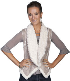 Scully Lightweight Faux Shearling Vest, , hi-res