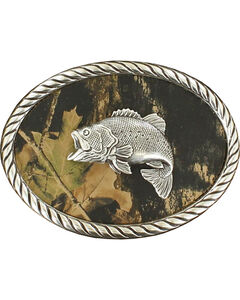 Fish Mossy Oak Oval Buckle, Mossy Oak, hi-res