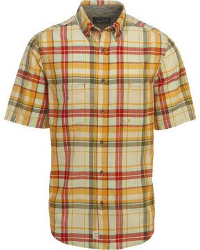 Woolrich Men's Oak View Eco Rich Plaid Shirt, Cream, hi-res