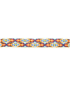 Multi Color Beaded Hatband, , hi-res