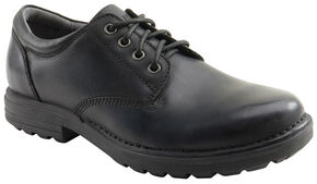 Eastland Men's Black Xavier Oxfords , Black, hi-res