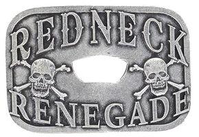 Cody James Men's Redneck Renegade Bottle Opener Buckle, Silver, hi-res