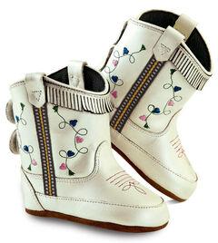 Old West Girls' Infant White Poppets , , hi-res