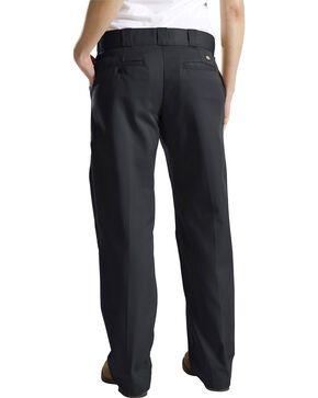 Dickies Women's Classic Straight Leg Twill Pants, Black, hi-res