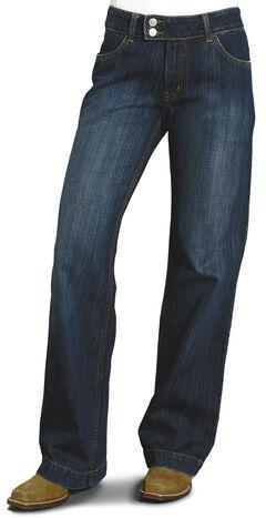 """Stetson Women's 214 Fit City Trouser Jeans - 33"""" Long, , hi-res"""