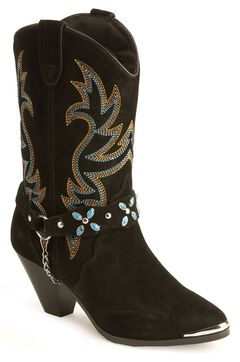 Dingo Stone Harness Cowgirl Boots, , hi-res