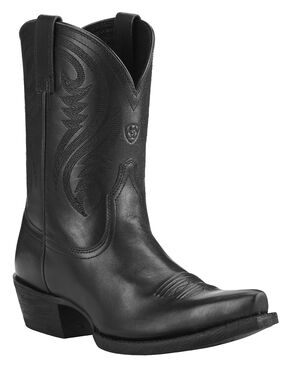 Ariat Willow Short Cowgirl Boots - Snip Toe, Black, hi-res