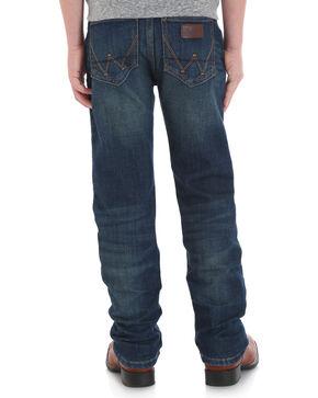 Wrangler Retro Boys' (8-18) Slim Stretch Jeans - Straight , Blue, hi-res